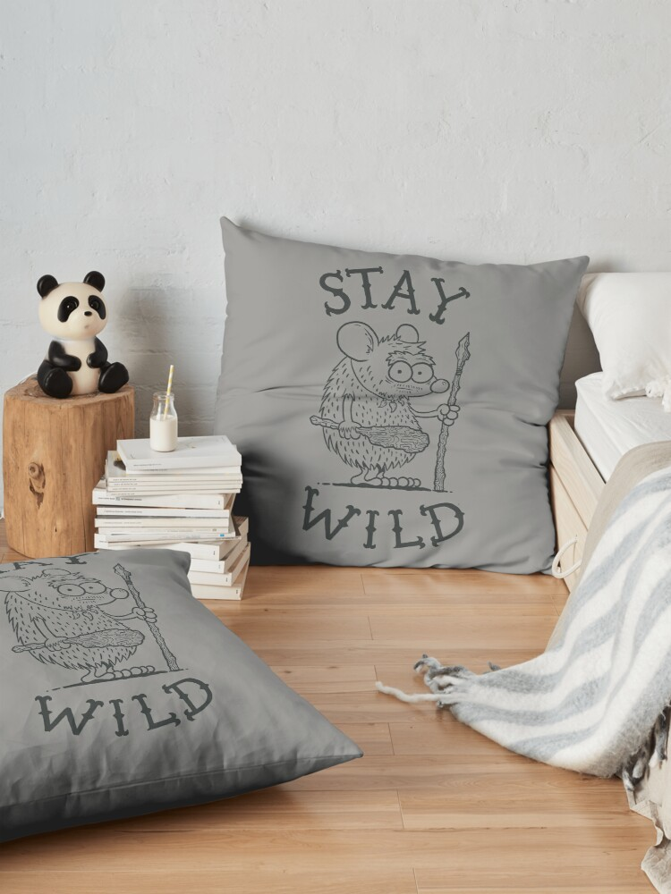 Alternate view of Stay Wild Floor Pillow