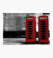 phone box colour pop Photographic Print