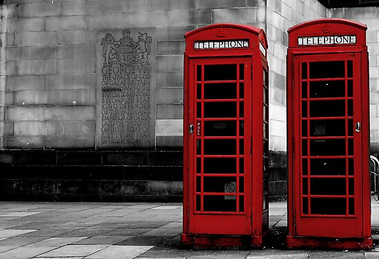 phone box colour pop by Michelle McMahon