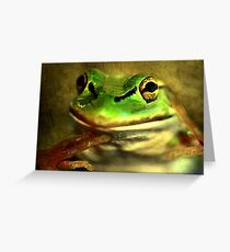 """""""Save ME !!!..........Take Care of Mother Earth !"""" Greeting Card"""