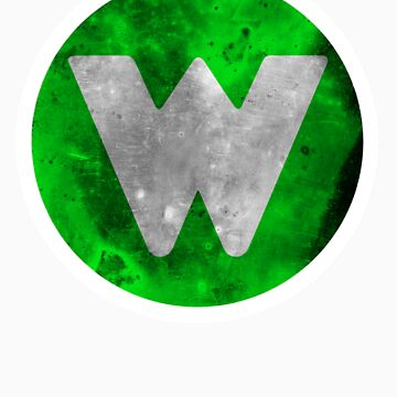 Wrongtown W Logo - Green Distressed by houseAU