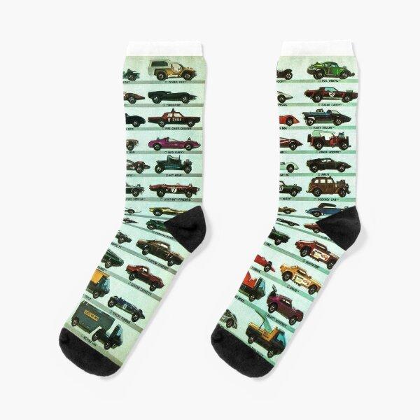 Retro Racing and Rally Poster Socks Mens Womens Casual Socks Custom Creative Crew Socks