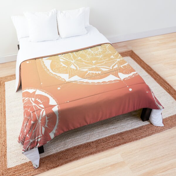 beautiful hand painted mandalas Comforter
