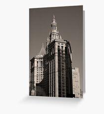 Tarjeta de felicitación New York Building