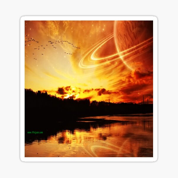 Planetary Sticker