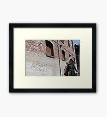 Urban Assassin  Framed Print