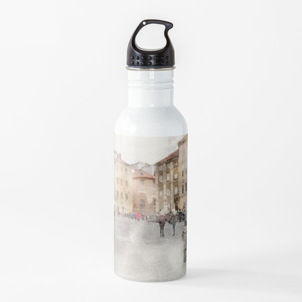 Casco antiguo de Varsovia Botella de agua