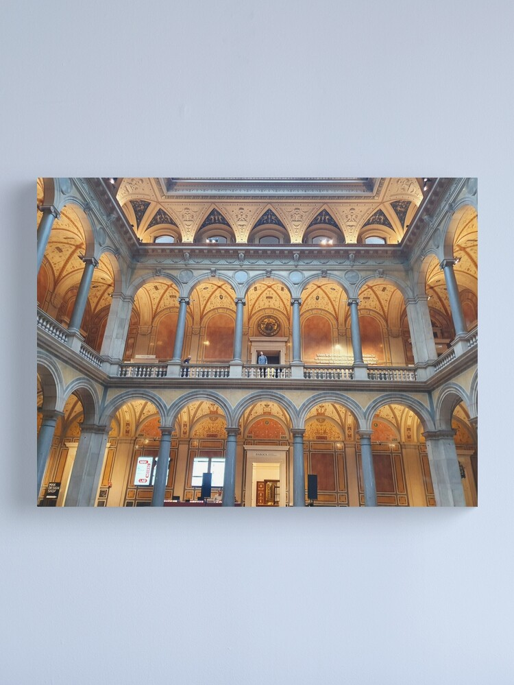 Alternate view of Vienna Museum of Applied Arts  Canvas Print