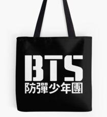 BTS Bangtan Boys Logo/Text 2 Tote Bag