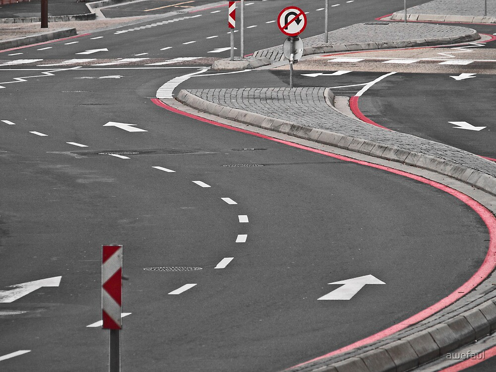 Winding road by awefaul