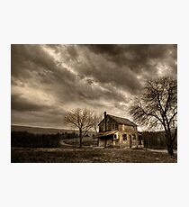 Abandoned in Clarks Valley Photographic Print