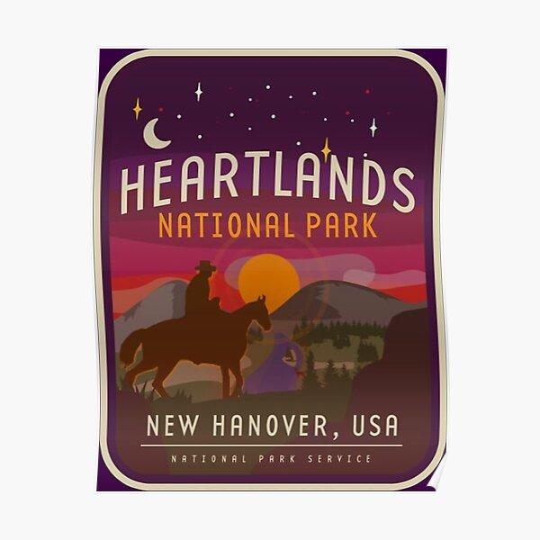 Heartlands National Park Poster