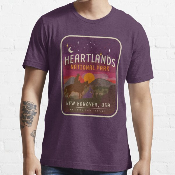 Heartlands Nationalpark Essential T-Shirt
