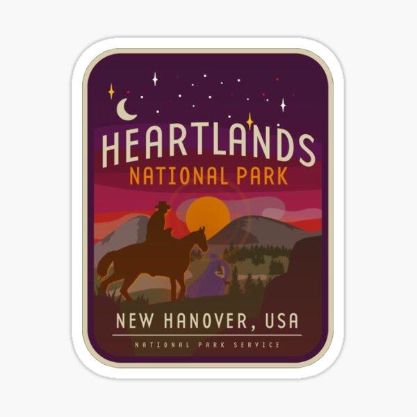 Heartlands National Park Sticker