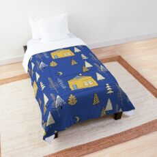 Woodland Fairy Tale Blue #woodland Comforter