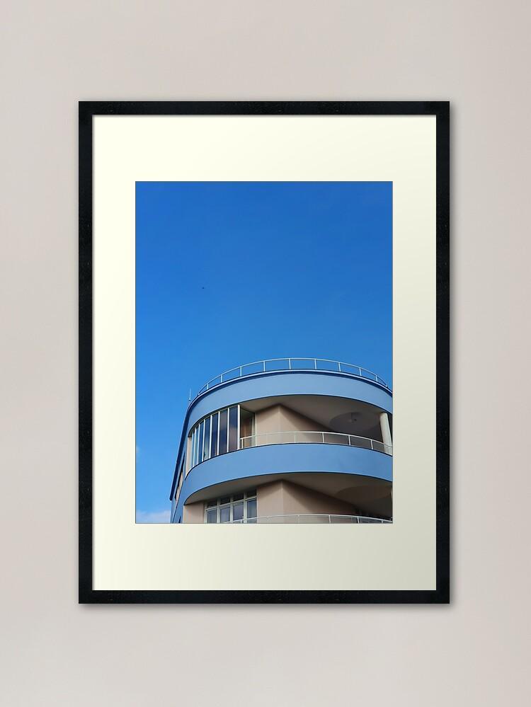 Alternate view of Beutiful Curved Villa in Brno Framed Art Print