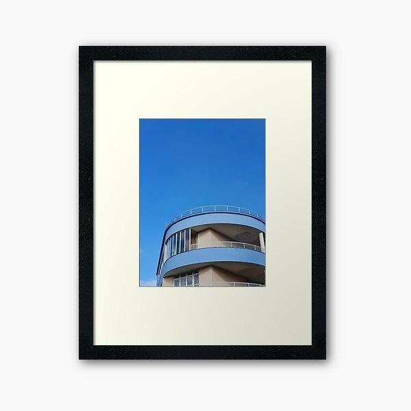 Beutiful Curved Villa in Brno Framed Art Print