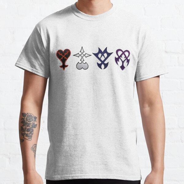 Tous les Kingdom Hearts Enemies Unite (sans devis) T-shirt classique