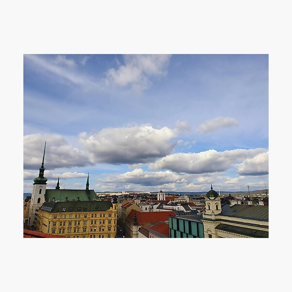 Brno from above Photographic Print