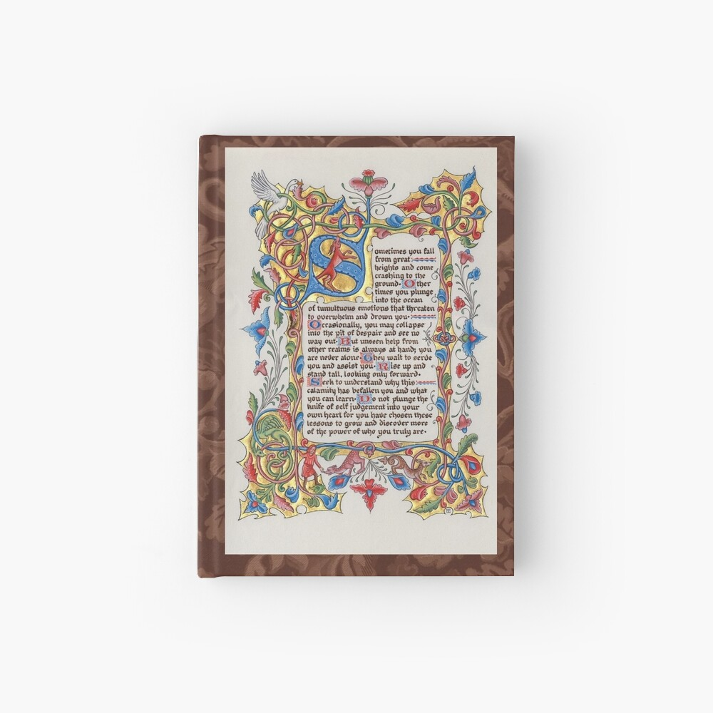 Medieval Illumination - The Fall Hardcover Journal