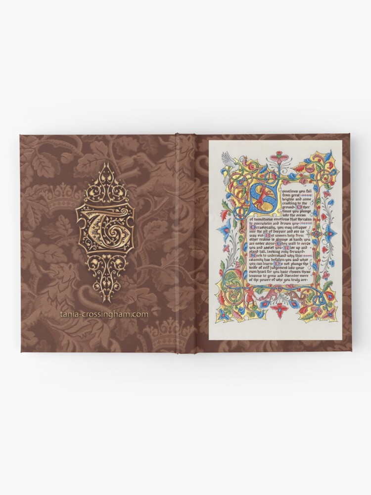 Alternate view of Medieval Illumination - The Fall Hardcover Journal