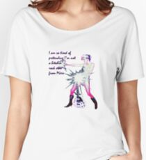Bitchin' Rock Star From Mars tee Women's Relaxed Fit T-Shirt