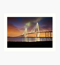 Arthur Ravenel Jr. Bridge - Charleston, SC Art Print