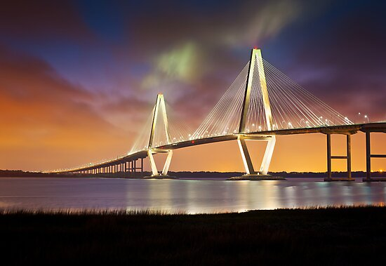 Arthur Ravenel Jr. Bridge - Charleston, SC by Dave Allen