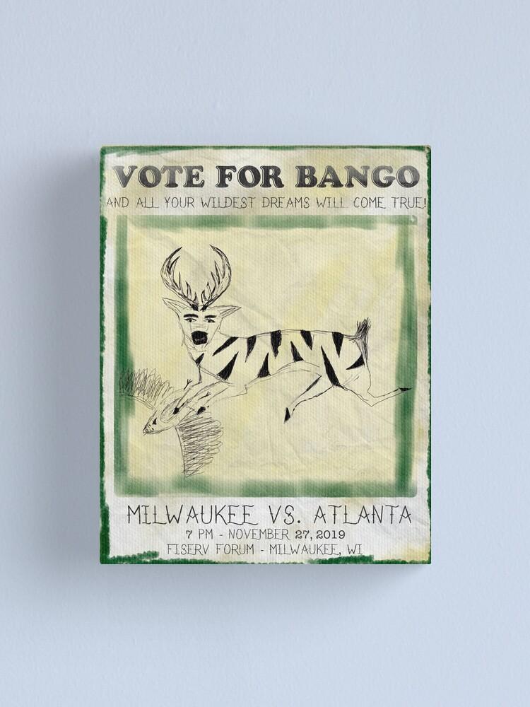 Alternate view of Vote for Bango Canvas Print