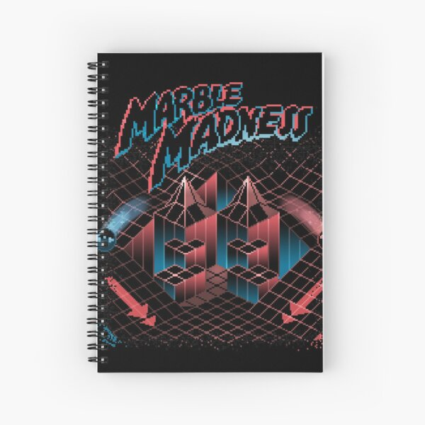 Madness Marbles Spiral Notebook