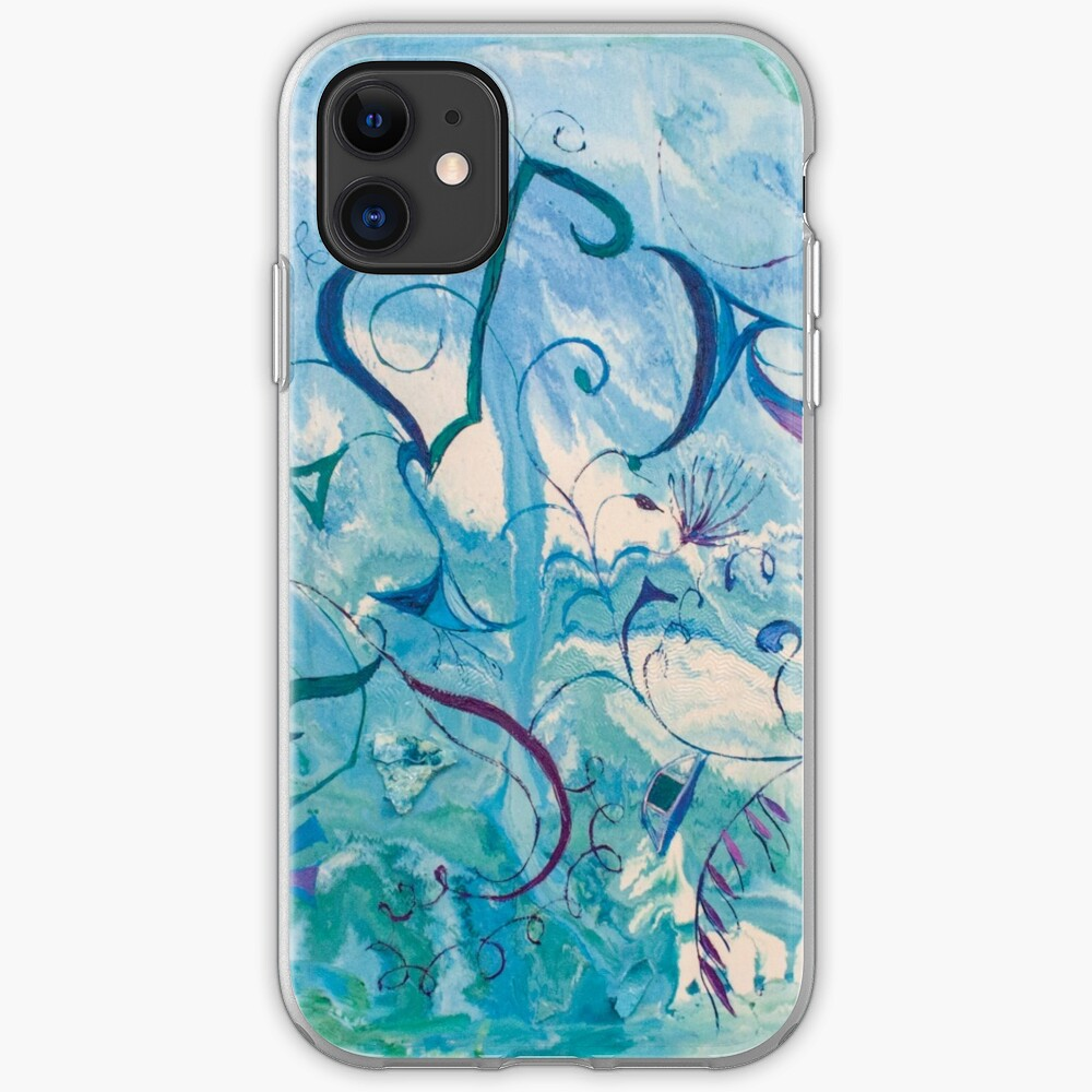 orient impressions abstract art iPhone Soft Case