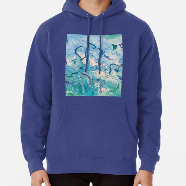 orient impressions abstract art Pullover Hoodie