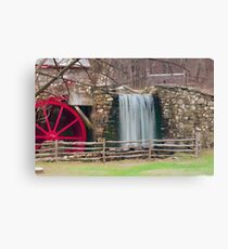 New England Grist Mill III Canvas Print