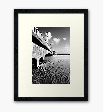 Bournmouth Pier Framed Print