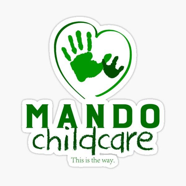 Mando Childcare Sticker