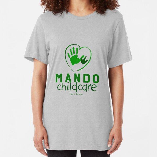 Mando Childcare Slim Fit T-Shirt