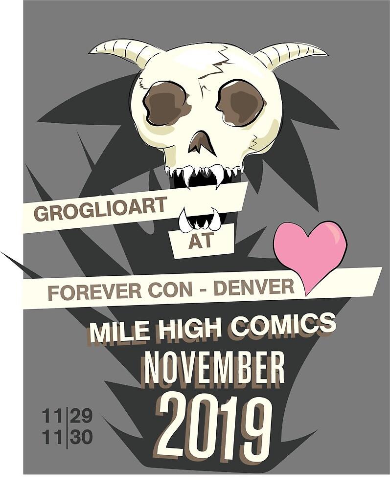 GroglioArt Con Poster by GroglioArt