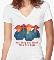Devo Hugo tee V.2 Women's Fitted V-Neck T-Shirt