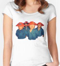 Devo Hugo tee V.3 Women's Fitted Scoop T-Shirt