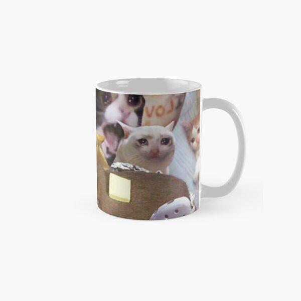 Crying Cat Memes Classic Mug