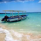 Glass Bottom Boat of Negril by tigerwings
