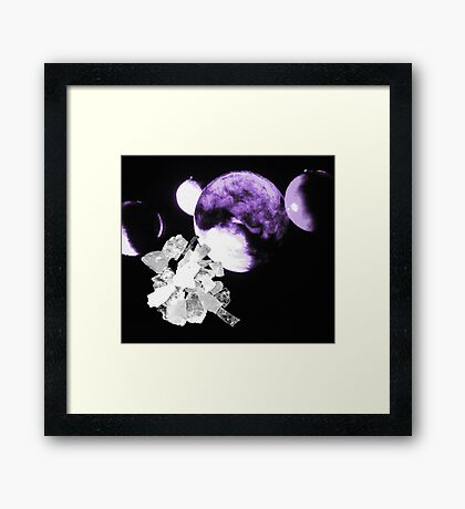 04-16-11:  Dilithium Crystals Framed Print