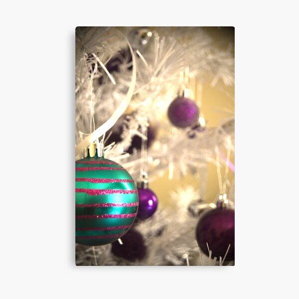 Christmas is in the Air Canvas Print