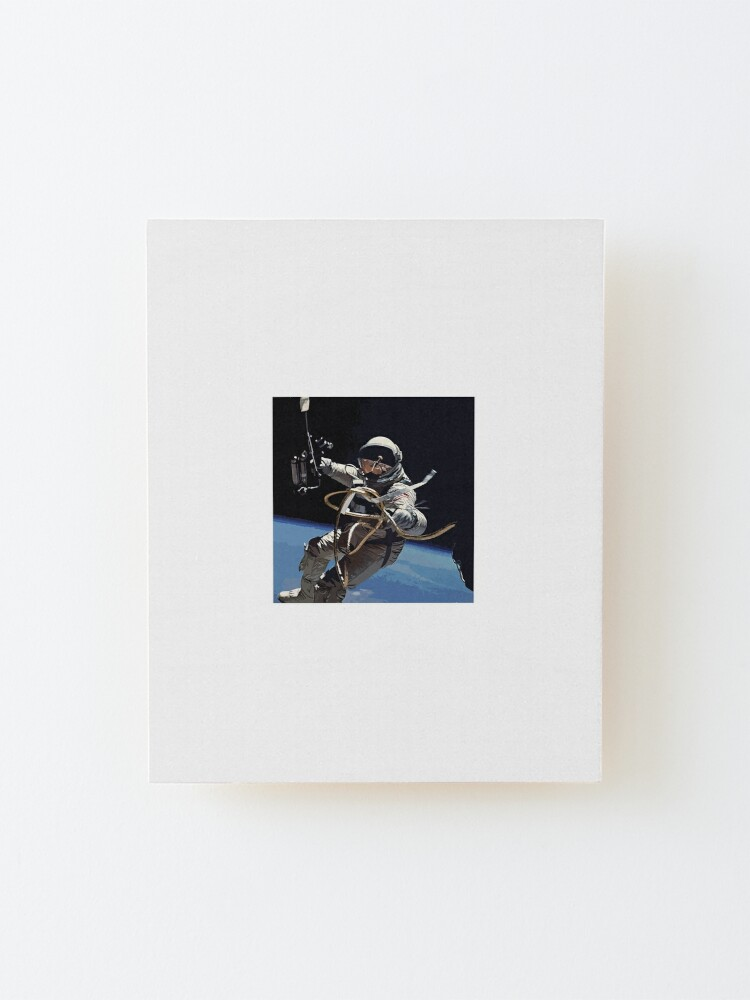 Alternate view of Astronaut Ed White's Spacewalk Colour Vector Art Mounted Print