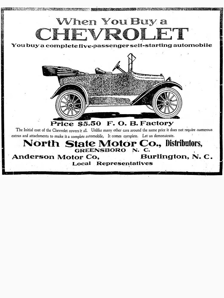 Chevrolet 1917 vintage advertisement by liesjes