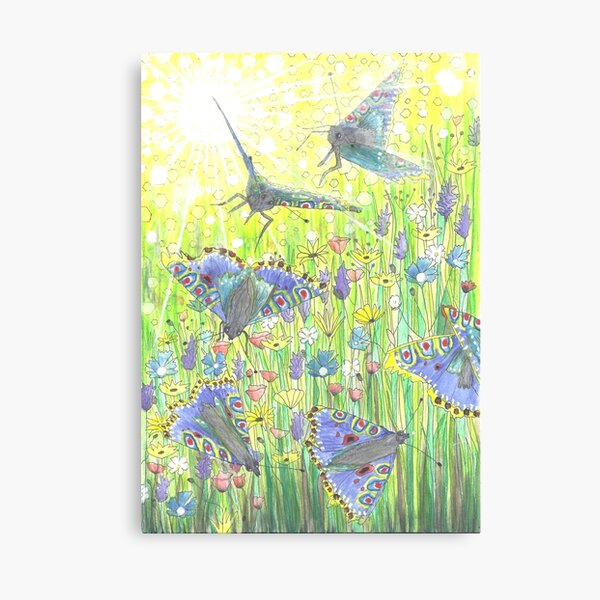 Fly-by Butterfly Canvas Print