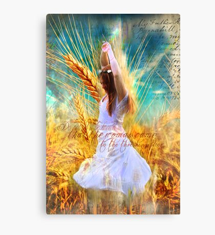 The Goodness of the Lord Canvas Print