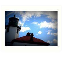 Lomography Lighthouse! Art Print