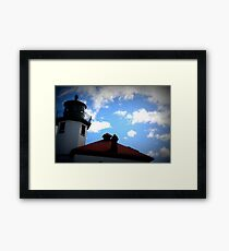 Lomography Lighthouse! Framed Print