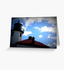 Lomography Lighthouse! Greeting Card